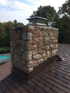 Mortar Pointing done right on a chimney